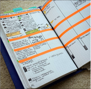 Example of how I use washi and stickers in my planner