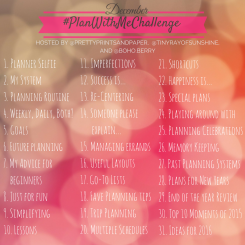Refine your planning system in community with us in the #planwithmechallenge - get into the HOW and WHY of planning // www.prettyprintsandpaper.com