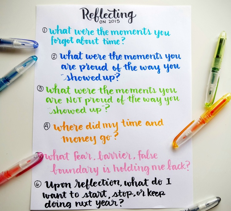 Reflection 2015