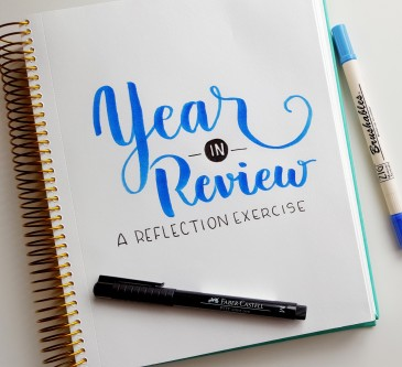Take time to dig deep as you think about your 2015 to launch your 2016 // www.prettyprintsandpaper.com