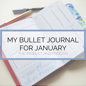 Read more about how I set up my Bullet Journal for January! @prettyprintsandpaper
