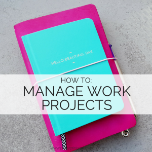 Your bullet journal can transform the way you manage your work - see how you can too // www.prettyprintsandpaper.com