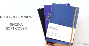 YT rhodia soft cover notebook review