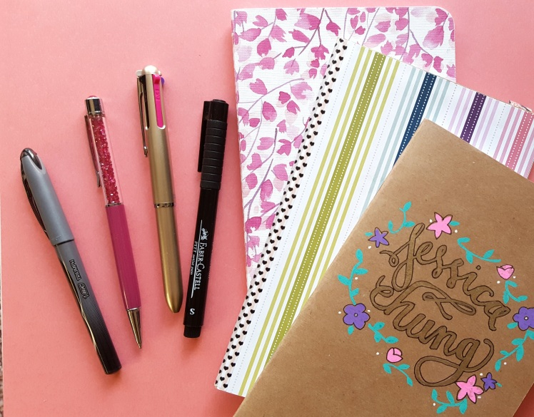 There are some supplies planner addicts and bullet journal junkies loves so much - see which ones I've been using up this month on the blog! // www.prettyprintsandpaper.com
