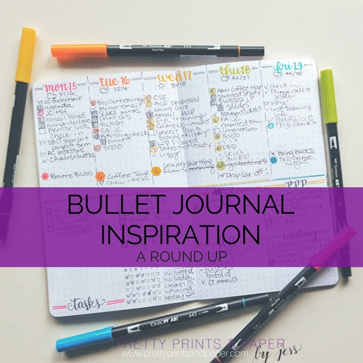 Looking for more bullet journal inspiration? Check these ideas out!