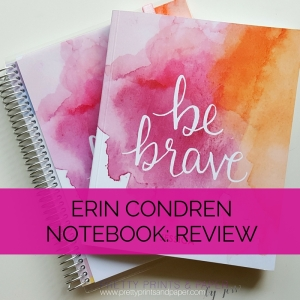 Curious about the Erin Condren notebooks? Thinking about it for your next bullet journal? Check out my latest review!