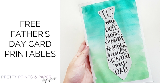 father s day card printable diy tutorial pretty prints paper