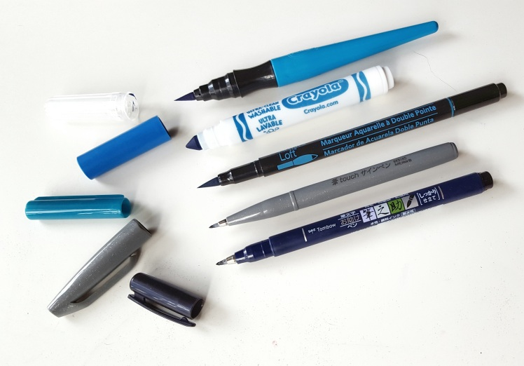 5 awesome calligraphy pens for beginners that aren't Tombow!