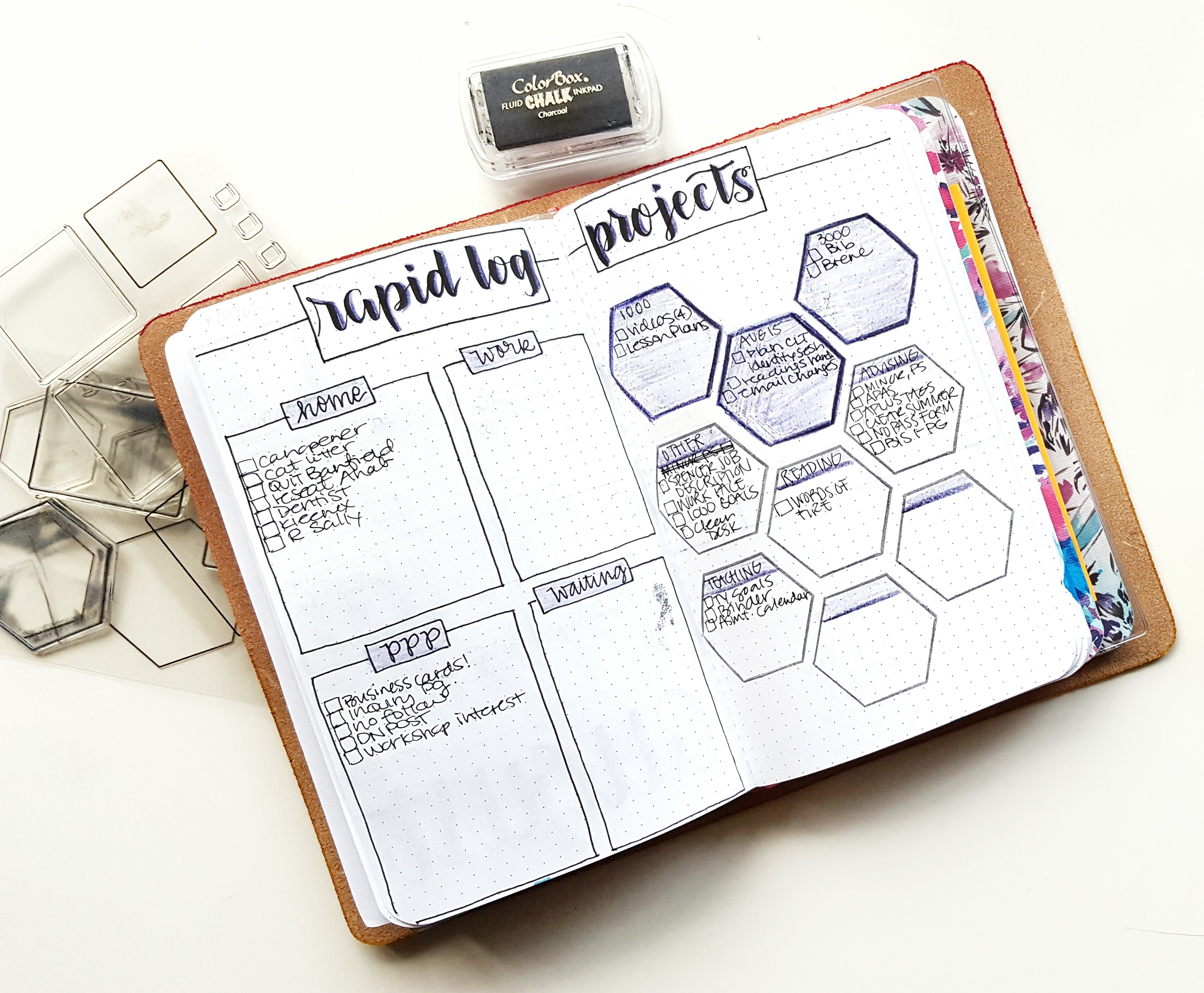 bullet journal for projects