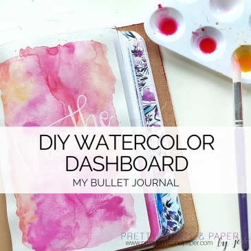 Planner Dashboards... Today I'm talking about what they are and how I made my own!
