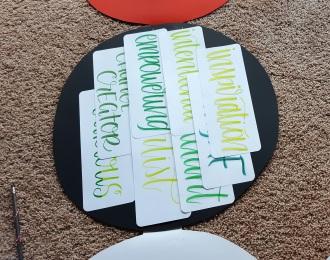 Handlettered Pokeball Card Gift 15