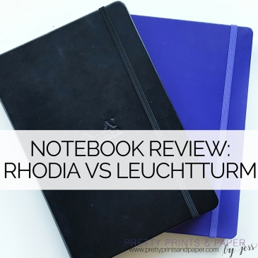 Deciding on a notebook? See how the Leuchtturm and Rhodia notebooks compare!