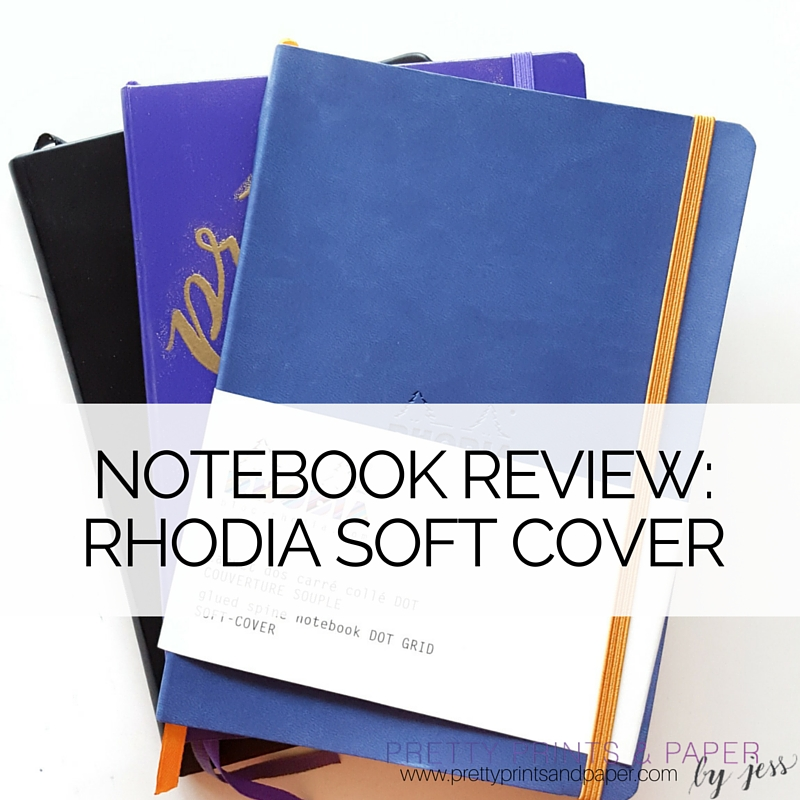 Notebook Review Rhodia Soft Cover Pretty Prints Paper