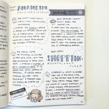 See how Sharon @gaeshagirlcreations uses the Erin Condren dot grid as her bullet journal (aka #handwritinggoals)