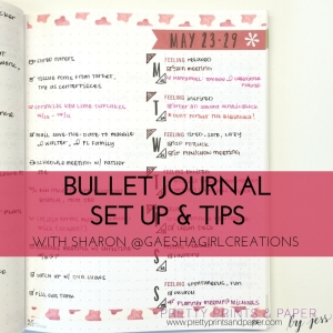 Sharon's Bullet Journal Set up & Tips
