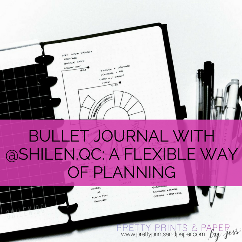 Planning Pretty: Bullet Journal With @shilen.qc: A Forgiving Way Of