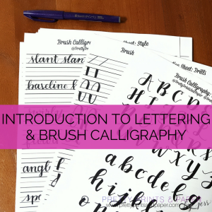 Want to get started lettering? I do a breakdown of how you can get started!
