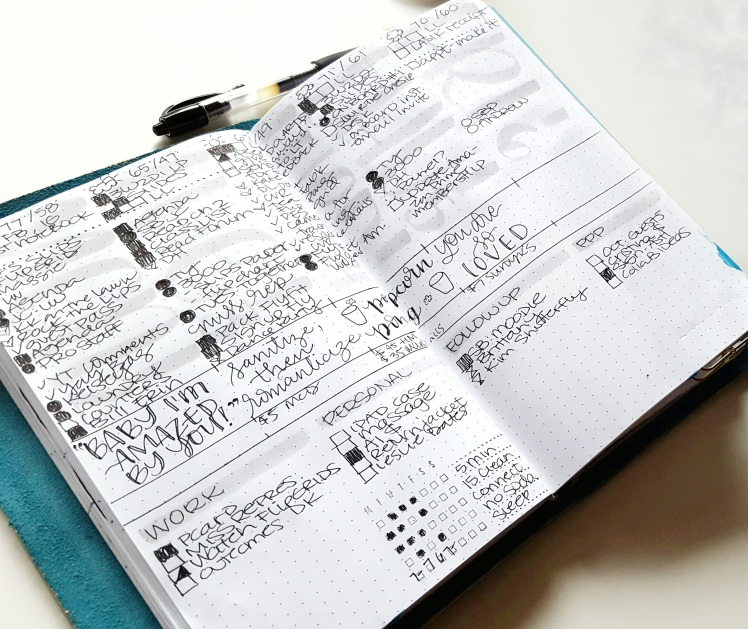 People think I use the bullet journal to get more done. I don't. Let me tell you why.