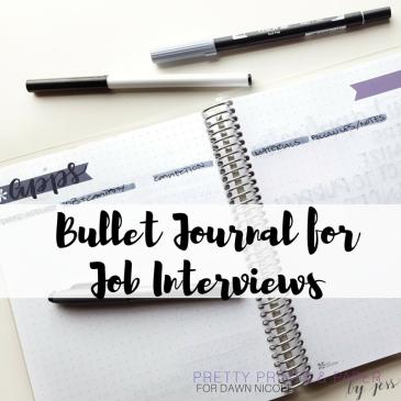 bullet-journal-for-job-interviews