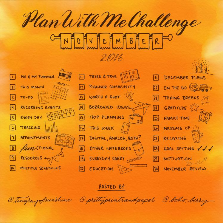 Join @prettyprintsandpaper, @tinyrayofsunshine, and @boho.berry in the #PlanWithMeChallenge to share and refine your planner system!