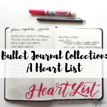 I'm keeping up my curiosity and sense of adventure with my Heart List - because life could be about maximizing our experience and not just our to-do list.