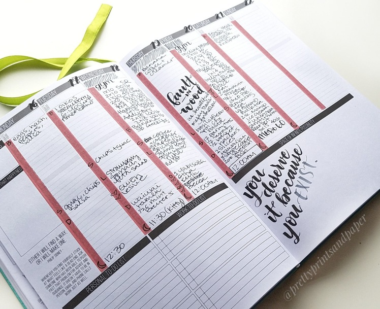 A possible health and fitness tracker in my passion planner. I'm experimenting with how to bullet journal in the Passion Planner - I share my set up, method, and reflections so far.