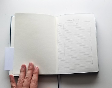 Looking for more dot grid notebook options for your next bullet journal? I am loving this Red Co notebook!