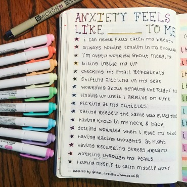 Learn about how you can cultivate mental health in your bullet journal