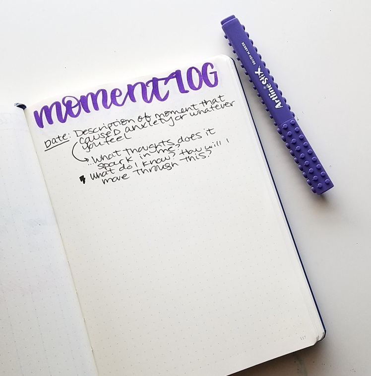 5 more ways to manage anxiety in my bullet journal