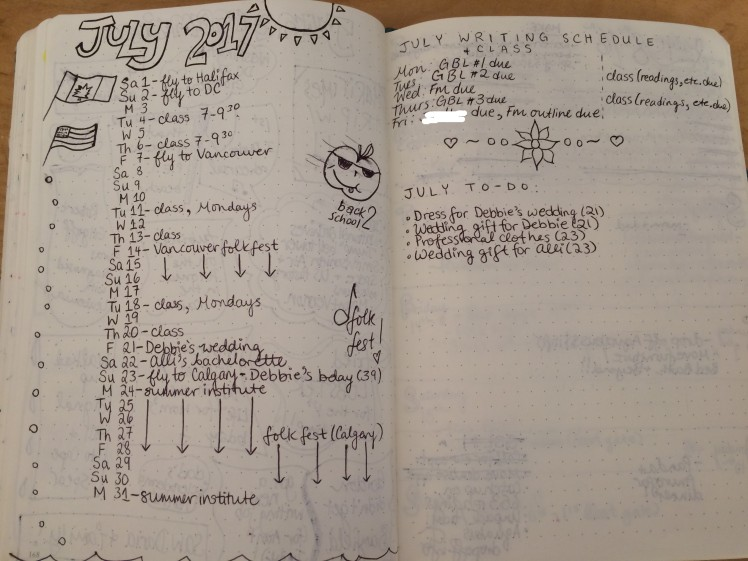 Why I let go of making my bullet journal pretty