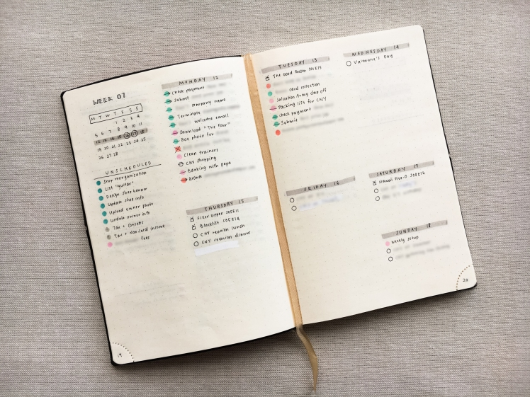 Using the bullet journal to have a clutter-free mind
